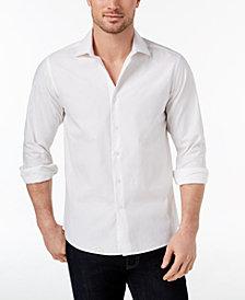 Tallia Men's Modern-Fit White Tonal Paisley Print Dress Shirt