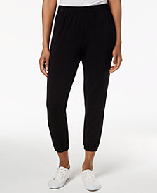 Style & Co Cropped Jogger Pants, Created for Macy's