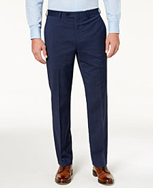 Lauren Ralph Lauren Men's Classic-Fit Ultraflex Stretch Navy Dress Pants