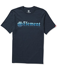 Element Men's Ombre Logo-Print T-Shirt