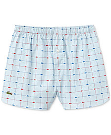 Lacoste Men's Cotton Printed Boxers