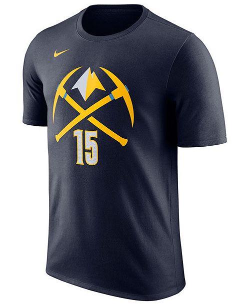 c5853528d Nike Men s Nikola Jokic Denver Nuggets City Player T-Shirt - Sports ...