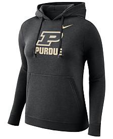 Nike Women's Purdue Boilermakers Club Hooded Sweatshirt
