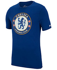 Nike Men's Chelsea Club Team Evergreen Crest T-Shirt