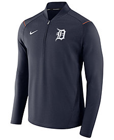 Nike Men's Detroit Tigers Dry Elite Half-Zip Pullover