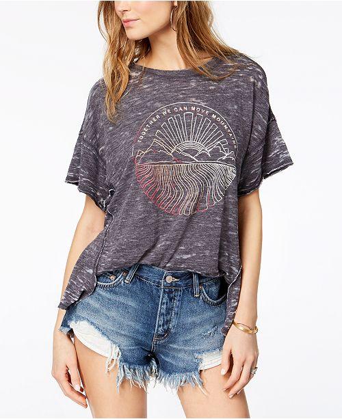 108a6f451e67 Free People Jordan Graphic Burnout T-Shirt   Reviews - Tops ...