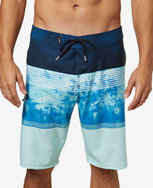 "O'Neill Men's Hyperfreak Colorblocked 20"" Board Shorts"