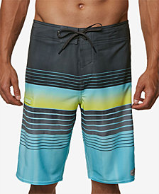 "O'Neill Men's Hyperfreak Heist Stripe 21"" Board Shorts"
