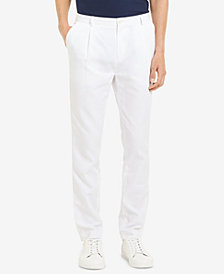 Calvin Klein Men's Tapered Pleated Pants
