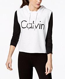 Calvin Klein Performance Sleeveless Cropped Hoodie