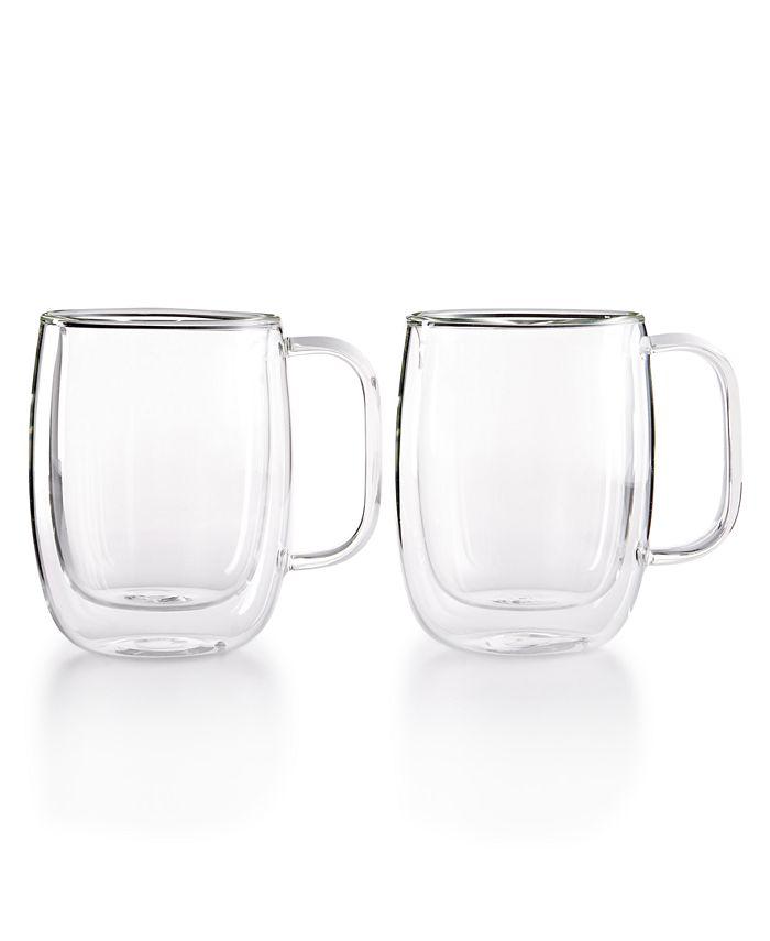 J.A. Henckels - Sorrento Double Wall Coffee Mugs, Set of 2