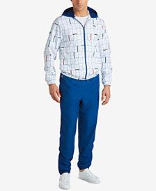Lacoste Men's Novak Djokovic Printed Hooded Track Suit