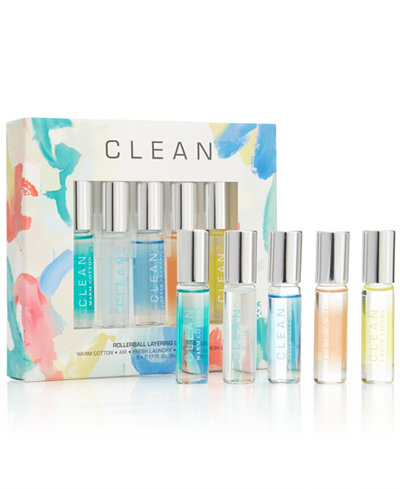 CLEAN Fragrance 5-Pc. Rollerball Layering Gift Set