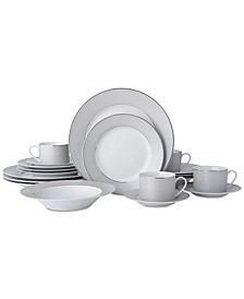 Percy 20-Pc. Dinnerware Set, Service for 4