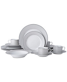 Mikasa Percy 20-Pc. Dinnerware Set, Service for 4