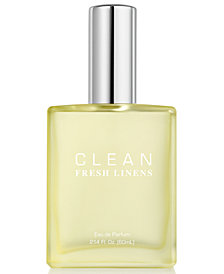 CLEAN Fragrance Fresh Linens Eau de Parfum, 2.14-oz.