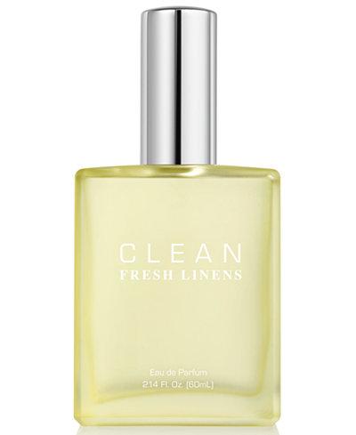 CLEAN Fragrance Fresh Linens Eau de Parfum, 2.14-oz.