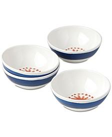 Nilsen Melamine Dessert Bowls, Set of 4