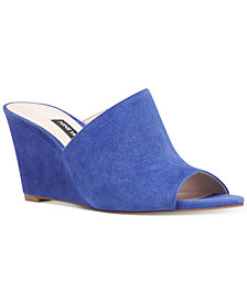 Nine West Janissah Slip-On Wedge Sandals