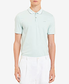 Calvin Klein Men's Liquid Touch Contrast Trim Polo