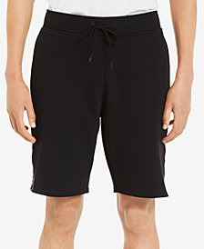 "Calvin Klein Men's Knit Drawstring 9"" Shorts with Logo Taping"