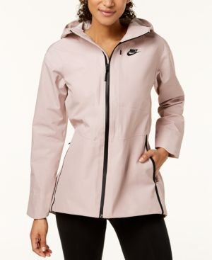 WOMEN'S SPORTSWEAR TECH WOVEN JACKET, PINK