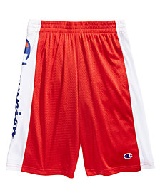 Champion Little Boys Script Heritage Shorts
