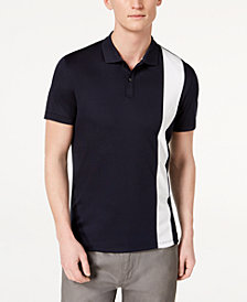 Calvin Klein Men's Liquid Touch Vertical Striped Polo