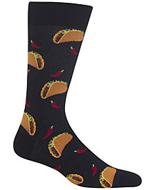 Hot Sox Men's Tacos Socks