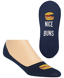 Hot Sox Men's Hamburger Liner Socks