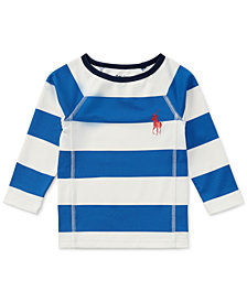 Ralph Lauren Striped Rash Guard, Baby Boys