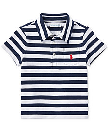 Ralph Lauren Striped Cotton Polo, Baby Boys