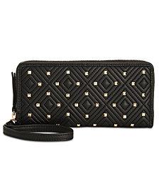 I.N.C Quiin Zip-Around Wristlet, Created for Macy's