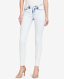 Jessica Simpson Juniors' Kiss Me Ripped Super Skinny Jeans