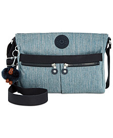 Kipling Angie Small Denim Crossbody