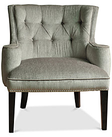 Fifth Ave Nailhead Chair, Quick Ship