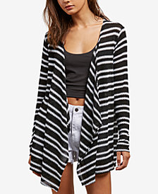 Volcom Juniors' Open-Front Wrap Cardigan