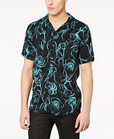GUESS Men's Floral Glow Shirt