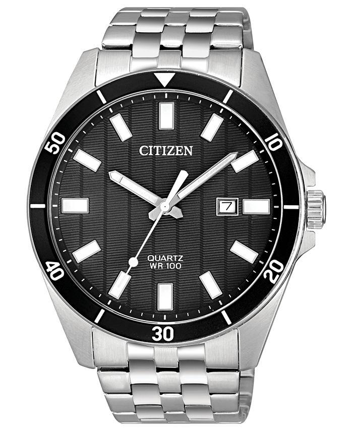 Citizen - Men's Quartz Stainless Steel Bracelet Watch 42mm