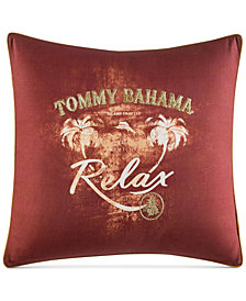 "CLOSEOUT! Tommy Bahama Home Kamari 20"" x 20"" Decorative Pillow"