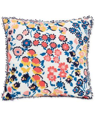 "Cuban Tiles 16"" Square Decorative Pillow"