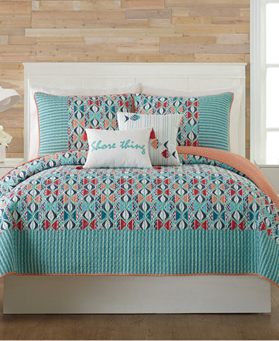 Vera Bradley Go Fish Quilt Collection