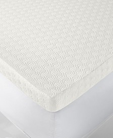 "CLOSEOUT! 4"" Memory Foam Mattress Topper, Created for Macy's"