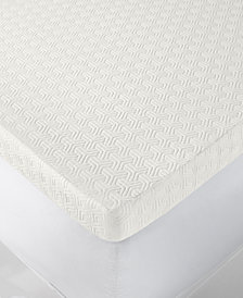 "Martha Stewart Collection Dream Science 4"" Memory Foam Full Mattress Topper, Created for Macy's"