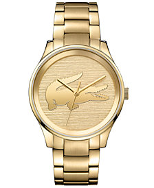 Lacoste Women's Victoria Gold-Tone Stainless Steel Bracelet Watch 38mm