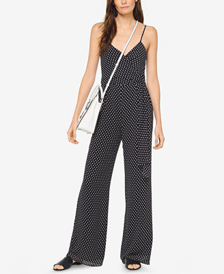 Dot Print Jumpsuit by Michael Michael Kors