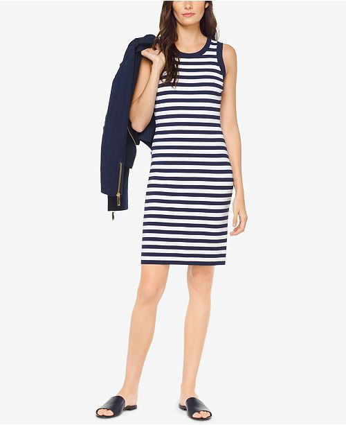 9c67684f9481 Michael Kors Striped Tank Dress & Reviews - Dresses - Women - Macy's