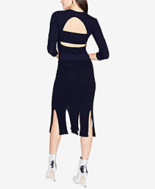 RACHEL Rachel Roy Back-Cutout Sweater, Created for Macy's