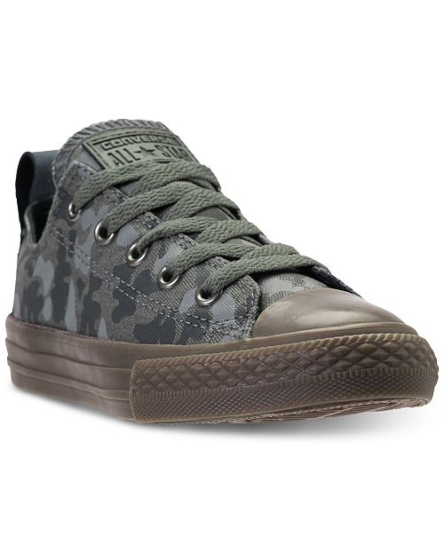 d2194145090cf6 ... Converse Little Boys  Chuck Taylor All Star Ox Camo Casual Sneakers  from Finish Line ...