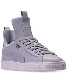 Puma Big Girls' Basket Fierce High Top Casual Sneakers from Finish Line